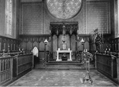 Interior of Catholic Apostolic Church
