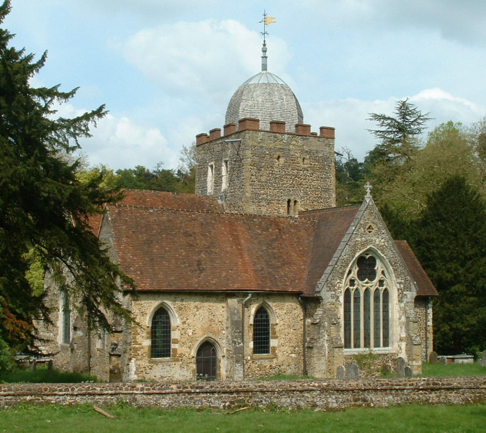Albury Saxon Church