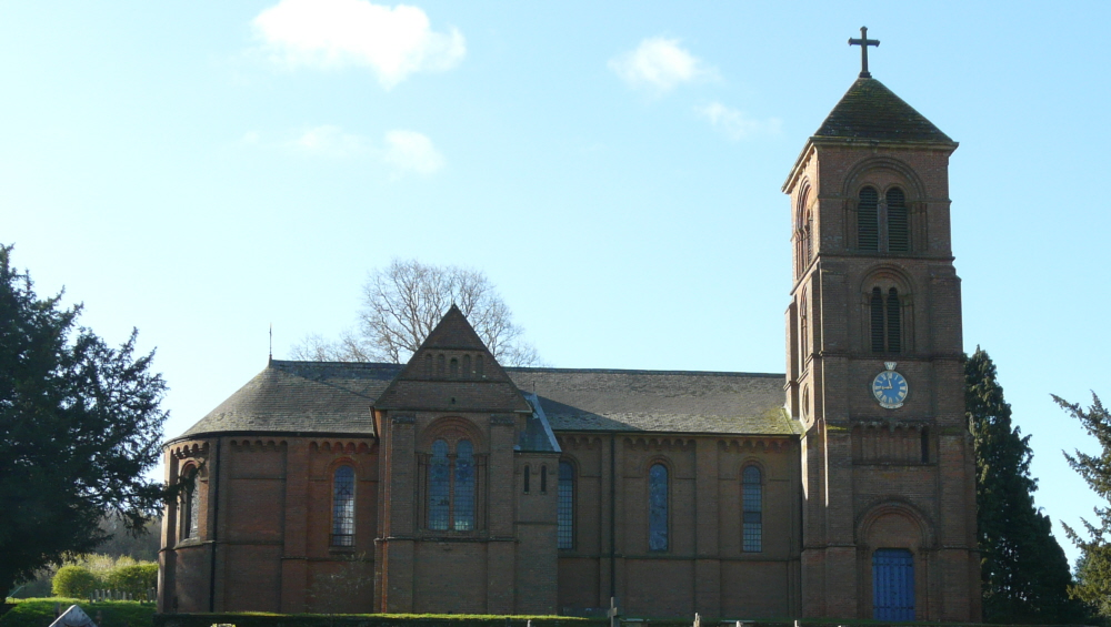 St Peter and St Paul, Albury